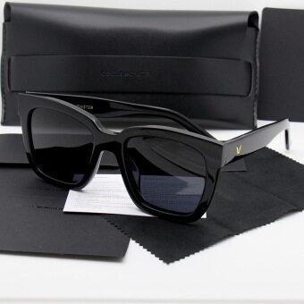 "Gentle Monster Unisex Sunglasses ""The Dreamer"" UV400 PolarizedAnti-Reflective Fashion Design Women Men Sunglasses fashiongift(black) - 2"