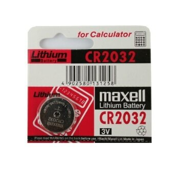 Harga Genuine Maxell Cr2032 Lithium Battery Japan 2pcs