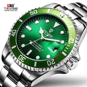 Detail Gambar Produk Green Men Watches TEVISE Automatic Mechanical Watch Luxury Brand Waterproof Luminous Men Watch Calendar Clock Relogio Masculino Produk ...
