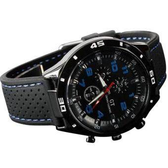 GT Grand Racing Men Military Pilot Silicone Sport Wrist Watch