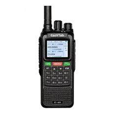 Ham Radio Walkie Talkie EasyTalk ET-889 10W GPS Dual Band VHF UHF 136-174MHz/400-520MHz 999 channels vox Long Range 2-5 miles Radio Transceiver