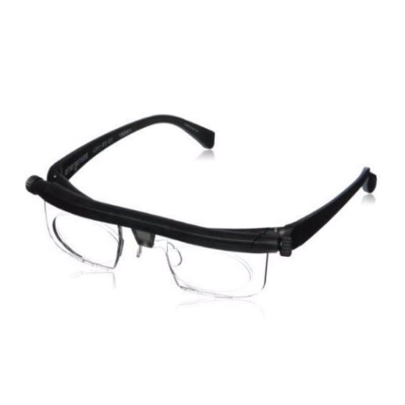 HengSong Unisex Adjustable Focal Length Resin Retro Vintage Elders Reading Glasses Presbyopic Glasses Malaysia