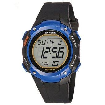 Harga High Quality Fashion Casual Sports Digital Watch Outdoor Sports Waterproof Watches Clock 62116 (blue)