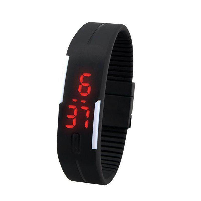 High Quality Store New New Fashion Sport LED Silicone Rubber Touch Screen Digital Waterproof Wristwatch Malaysia