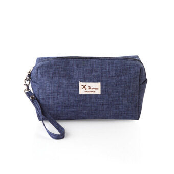 Harga Home big capacity portable cloth cosmetic storage bag travel cosmetic bag wash bag small cosmetic bag
