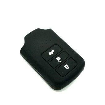 honda city accord crv 2014 2018 keyless remote car key silicone cover case black lazada. Black Bedroom Furniture Sets. Home Design Ideas