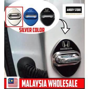 Honda Door Lock Protection Cover Honda City Jazz BRV Honda Civic Honda Accord Honda HR-V Honda HRV Silver Chrome