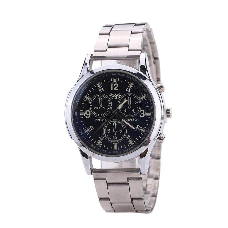 Hot Sale! Men And Women General Business Quartz Watch Stainless Steel Strap Malaysia