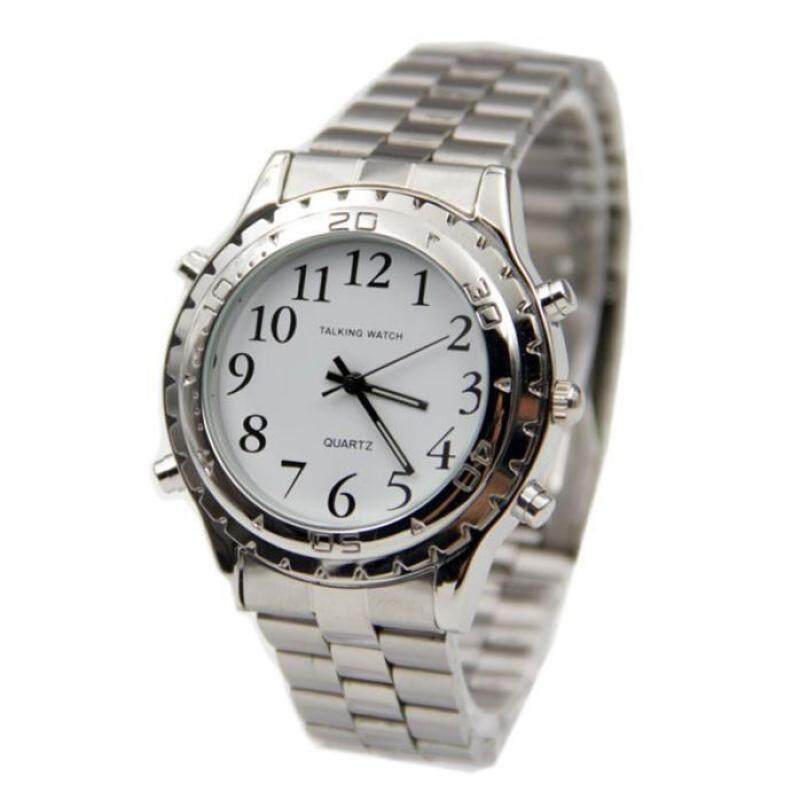Hot Sale!English Talking clock for blind or visually impaired Watch yourself Malaysia