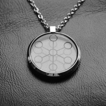 Hottime 2000CC High Ion Bio Chi Quantum Pendant Scalar Energy WithStainless Steel Necklace Chain 30027