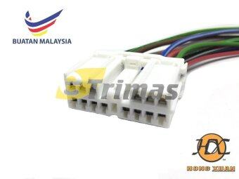 HX-3780-FM Proton Wira Perdana V6 Power Window Switch Main RightSocket Connector