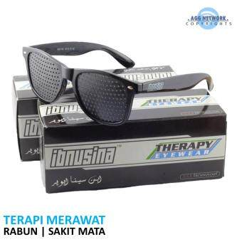 Harga Ibnusina Pinhole Therapy Eyewear Glasses (Polka Black) | Fuzzy Blurred Vision Spectacles See Clear Eye Sight | Ibnu Sina Theory