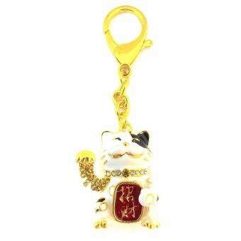 Harga Feng Shui Lucky Cat Keychain