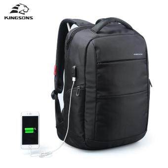 Harga Kingsons KS3142W 15.6 inch External USB Charge Laptop Backpack Anti-theft Notebook Computer Bag for Business Men&Women