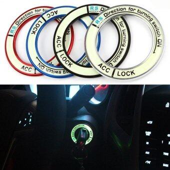Harga Car Ignition Switch Cover Noctilucence Glow Auto Accessories for 2014 Corolla Levin Blue