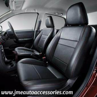 Harga JME Cushion Proton Perdana V6 Basic Leather Seat Covers (Black)