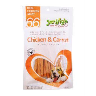 Harga Jerhigh Chcken & Carrot 100 Gram (Japanese Packaging) x 12 Packs
