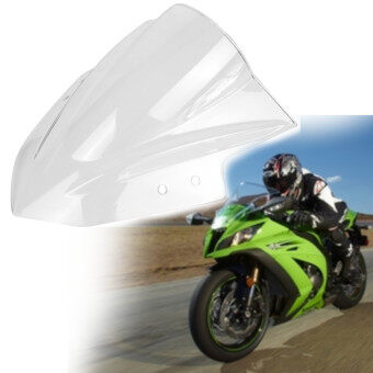 Harga Motors Accessories 331164060246 Smoke Black Abs Windshield Windscreen For Kawasaki Ninja 300 Ex300 2013-2015