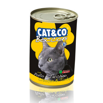 Harga Adragna Cat & Co Chunks Chicken & Turkey 24 Cans X 400gm