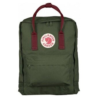 Harga FJALLRAVEN KANKEN CLASSIC BACKPACK F23510 - FOREST GREEN/OX RED