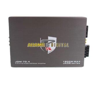 Harga Adams Digital Jade Series JDM-70.4 4 Channel 1800w Power Amplifier