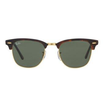 Harga Ray-Ban Clubmaster Crystal Green Lenses RB3016 W0366 Arista Sunglasses [51]