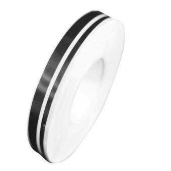 Harga 4mm&2mm 980cm Pinstripe Decals Vinyl Tape FT-350 For Car DOUBLE LINE Tape Decal Vinyl Stripe Stickers (Black)