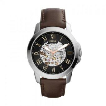 Harga FOSSIL ME3100 Grant Black Skeleton Dial Automatic Men's Watch