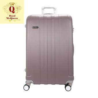 Harga Royal McQueen Hard Case Extra Light 8 Wheels 24 Luggage – QTH 6911 - BROWN""