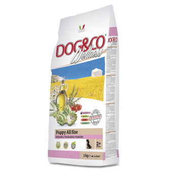 Harga Adragna Dog & Co Wellness Puppy All Size Chicken & Rice 3kg