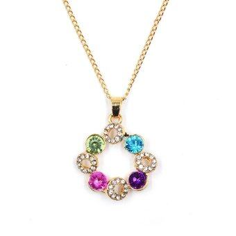 Harga ONLY Mr.Q Bring Energy Color Diamond Necklace