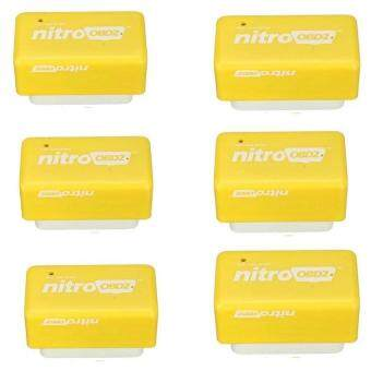 Harga Allwin 6PCS Plug and Drive NitroOBD2 Performance Chip Tuning Box for Benzine Cars Nitro OBD2