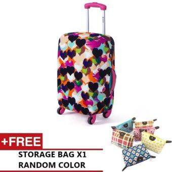 Harga Joytour Stretchable Elastic Travel Luggage Suitcase Protective Cover (Style B) - M