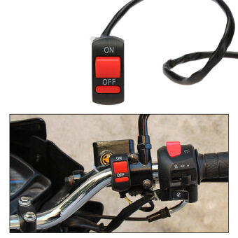 Harga Universal Motorcycle ATV Bike Handlebar Light Switch ON OFF Button