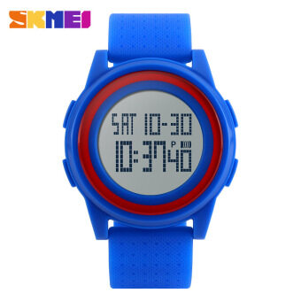 Harga Wholesale New Arrival Fashion Casual SKMEI Brand Waterproof Watches Women Lovers Sport Watch With Very Comfortable Soft Band 1206,3pcs/pack