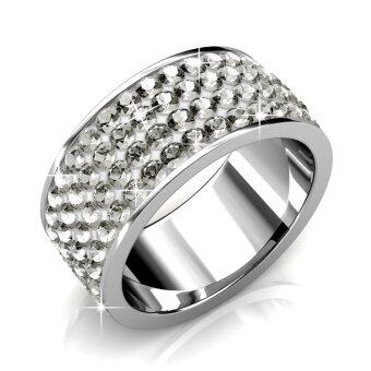 Harga Roller Ring - White (Crystals from Swarovski®)