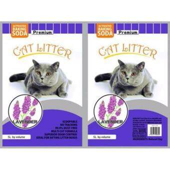 Harga ECO Cat Litter 5L Lavender x 1