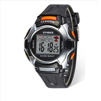 Harga Synoke 99329 Children Watch Boys and Girls Waterproof 30M Digital Watch (Black)