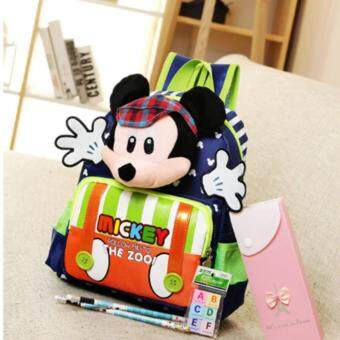 Harga Follow To Zoo Mickey Bag (Blue)