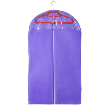Harga Fancytoy Garment bag/Clothes dust cover/suit cover/Suit storage bag dust proof cover S (Purple)