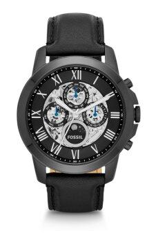 Harga Fossil ME3028 Grant Automatic Black Leather Watch