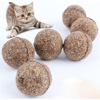 Harga YingWei 2Pcs Pet Cat Toys Catnip Natural Healthy Fun Ball Kitty Treats for Cats