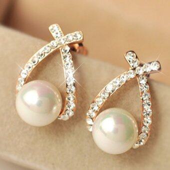 Harga CADIS 24K The Beauty Of The Gloden Pearl Stud Earring