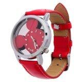 Harga LT365 Cartoon Mickey Mouse Children Watches Red