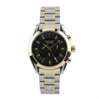 Harga (Import) Jargar Automatic Mechanical Movement Stainless Steel Watch JA-Classic Black