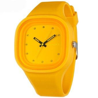 Harga Fashion Silicone Digital Girl Watches-Orange(66895)