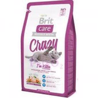 Harga Brit Care Crazy I'm Kitten Hypoallergenic Chicken & Rice Formula Kitten Food 2kg