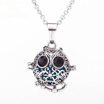 Harga Lava stone Diffuser Necklace-Mexican Lucky Owl -447