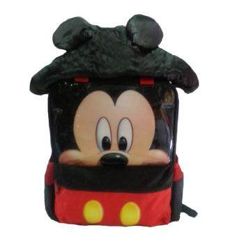 Harga DISNEY MICKEY MOUSE 3D HOODIE PRE-SCHOOL BAG