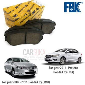 Harga FBK Front Brake Pads for Honda City (TMO & T9A) year 2009-Present, FD5868MS